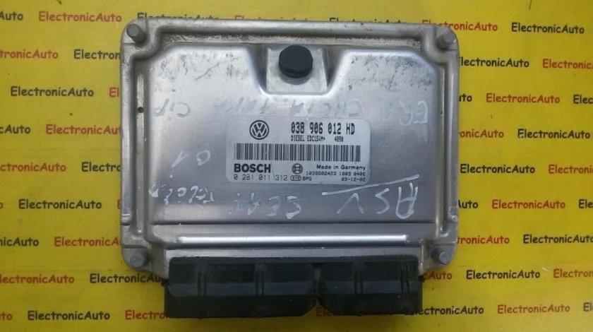 Calculator ECU motor Seat Leon/Toledo 0281011312