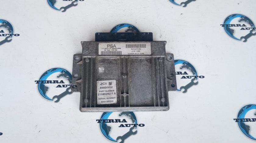 Calculator ECU Peugeot 206 1.4 benzina 55 KW 75 CP cod motor KFW