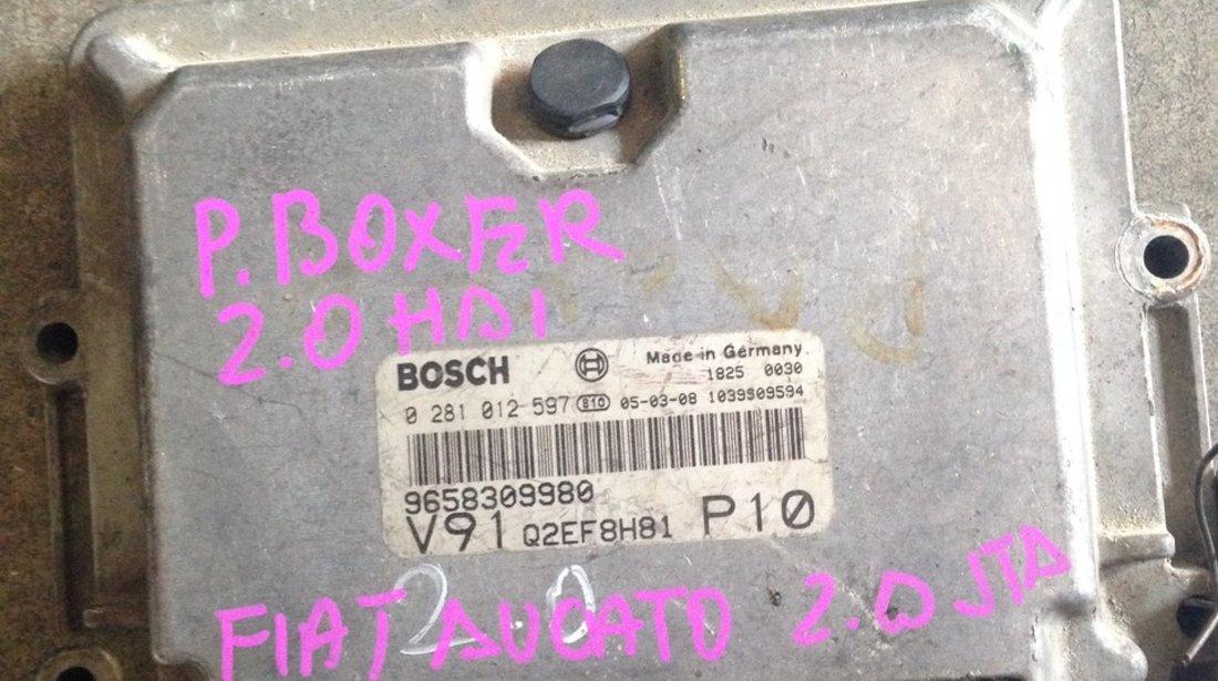 calculator ecu peugeot boxer 2.0 JTD 2004 2005