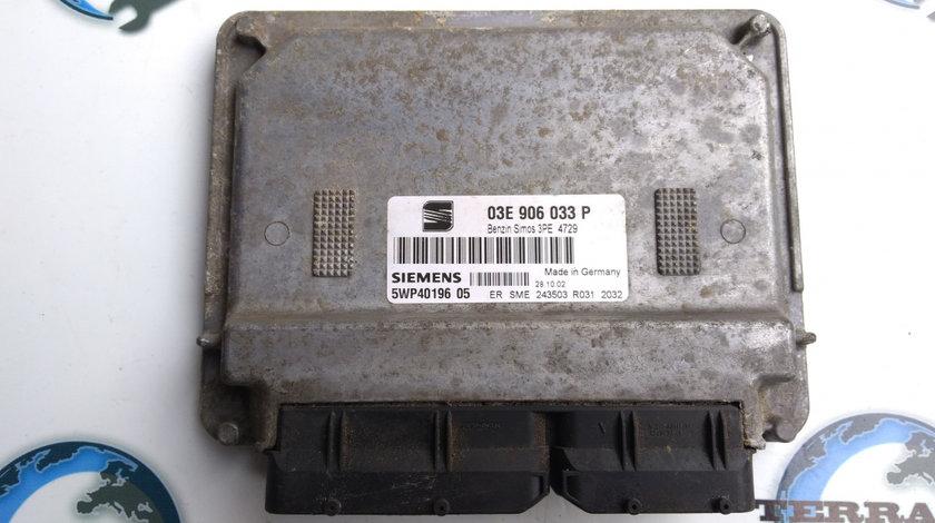 Calculator ECU Seat Ibiza 1.2 benzina