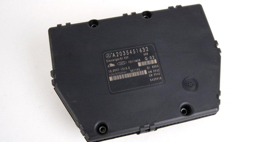 calculator esp mercedes W203