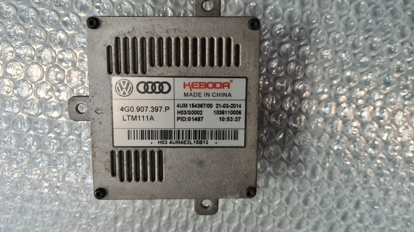 Calculator far Balast Xenon AUDI A6 4G C7 2014 2015 2016