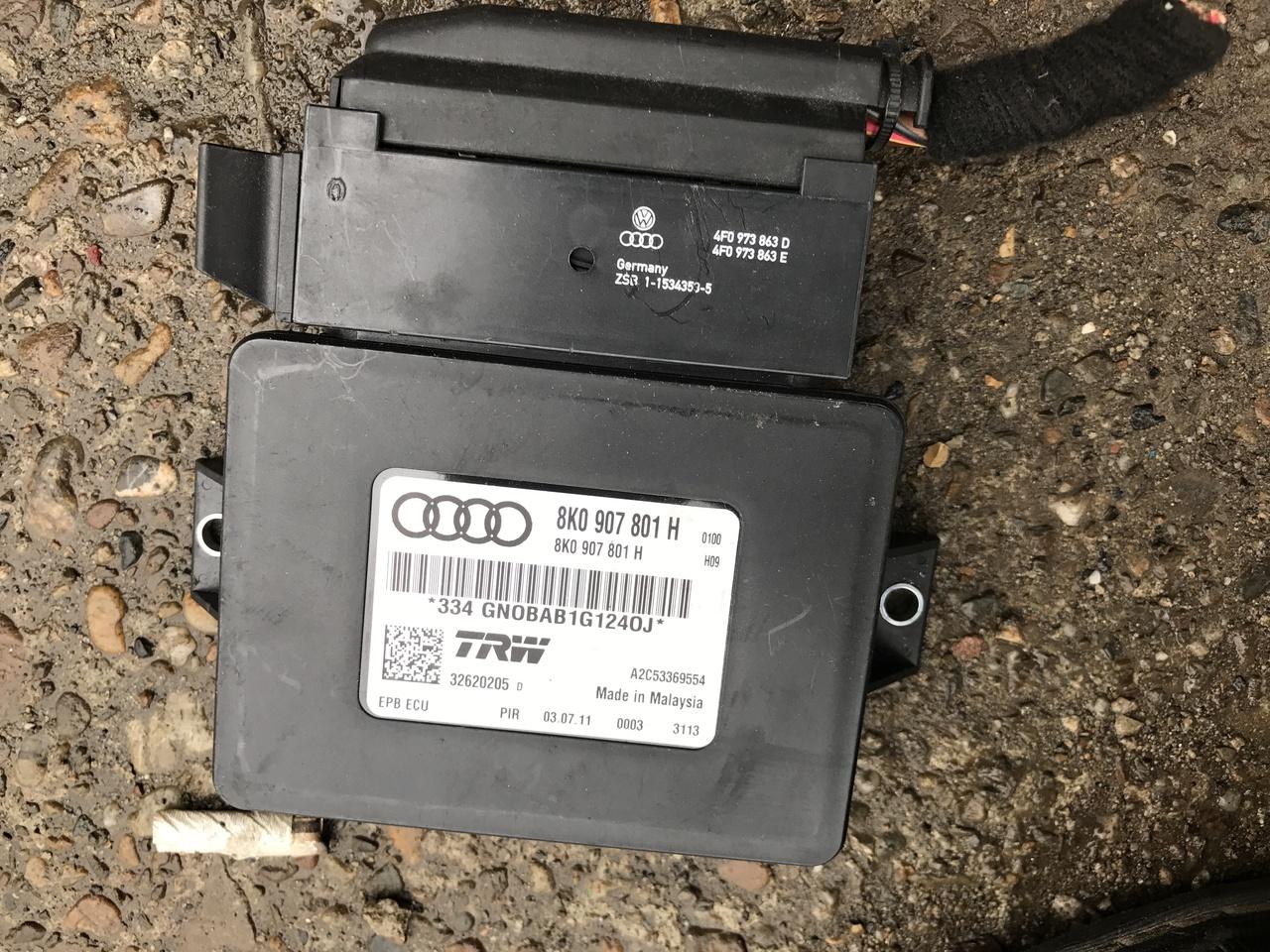 Calculator frana de mana AUDI A4 B8 8K 2009 2010 2011 2012