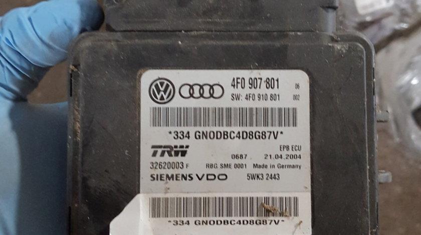 Calculator frana de mana Audi A6 4F C6 an 2005 2011 4F0907801