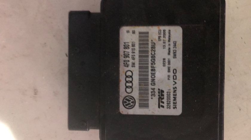 Calculator frana de mana Audi A6 4F C6 an 2005 2011 4F0907801