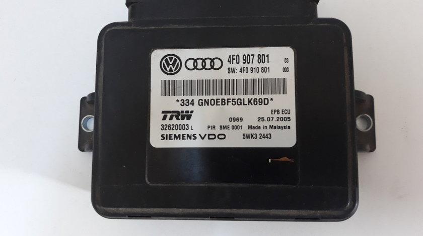 Calculator Frana de mana  Audi A6 4F cod 4F0907801 Livram prin curierat rapid cu plata ramburs la de