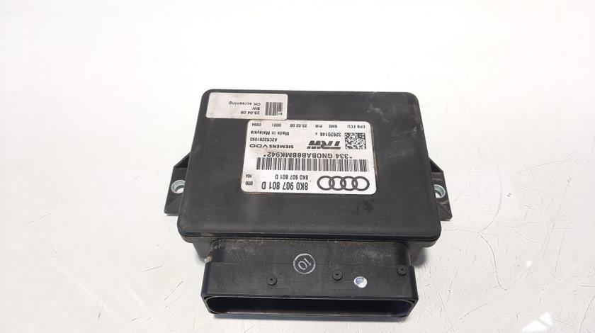 Calculator frana de mana, cod 8K0907801D, Audi A4 Avant (8K5, B8) 2.0 tdi, CAG