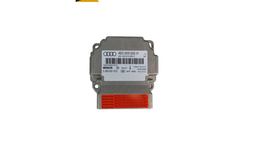 Calculator modul airbag cod: 4E0959655H Audi A8 4E D3 3.0 tdi quattro ASB 233hp 2003-2009