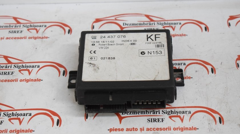Calculator modul confort 24437076 Opel Astra G