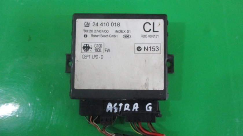 CALCULATOR / MODUL CONFORT COD 24410018 OPEL ASTRA G FAB. 1998 - 2004 ⭐⭐⭐⭐⭐