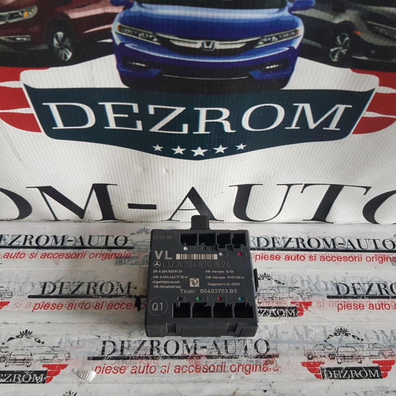 Calculator / Modul confort usa stanga fata Mercedes C-Class W204 a2048701826