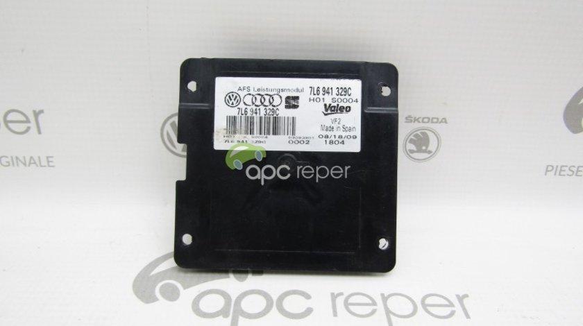 Calculator / Modul far Original Audi A5 8T / Q5 8R / Q7 4L / VW Passat , Eos - Cod: 7L6941329C