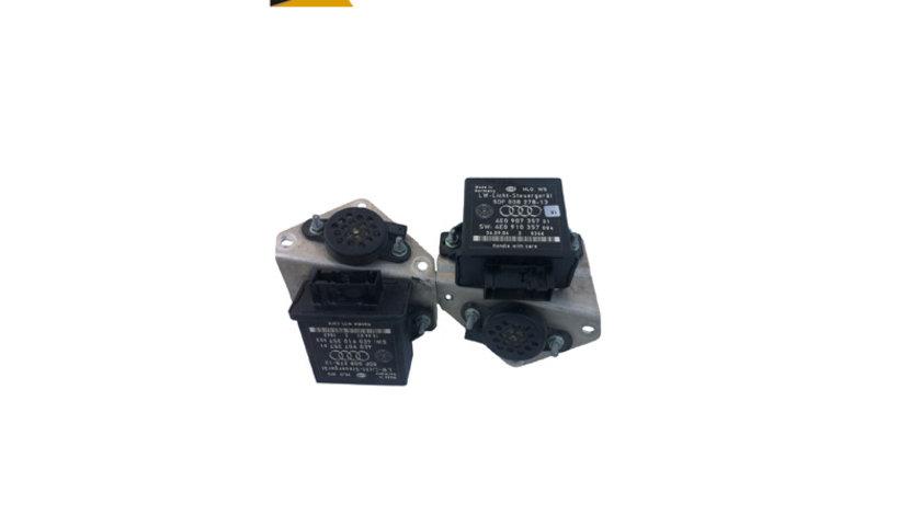 Calculator/ modul reglare far/ faruri Audi A8 D3 4E an 2003 - 2010 cod 4E0907357 / 4E0910357