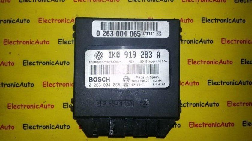 Calculator modul senzori parcare VW Golf 5 cod 1K0919283A
