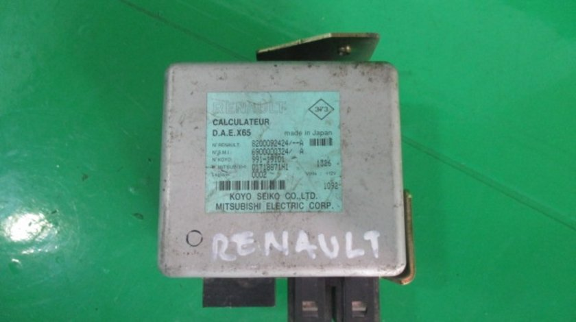 CALCULATOR / MODUL SERVODIRECTIE COD 8200092424 / 6900000324A RENAULT CLIO ⭐⭐⭐⭐⭐