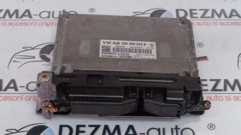 Calculator motor, 03E906023B, Skoda Fabia Praktik 1.2B, BZG