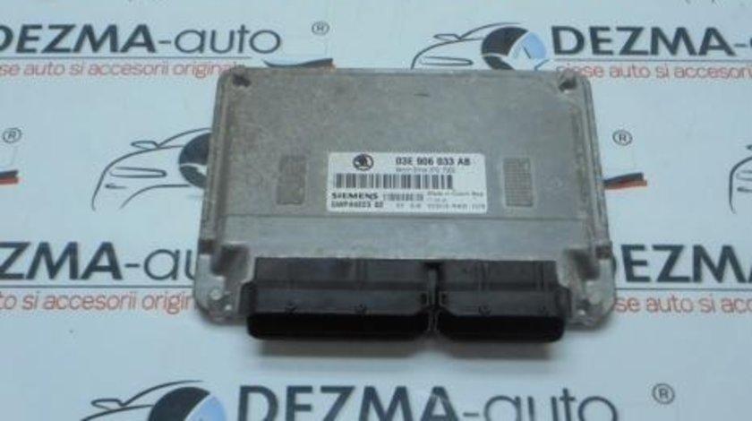 Calculator motor, 03E906033AB, Skoda Fabia 1,1.2Benzina