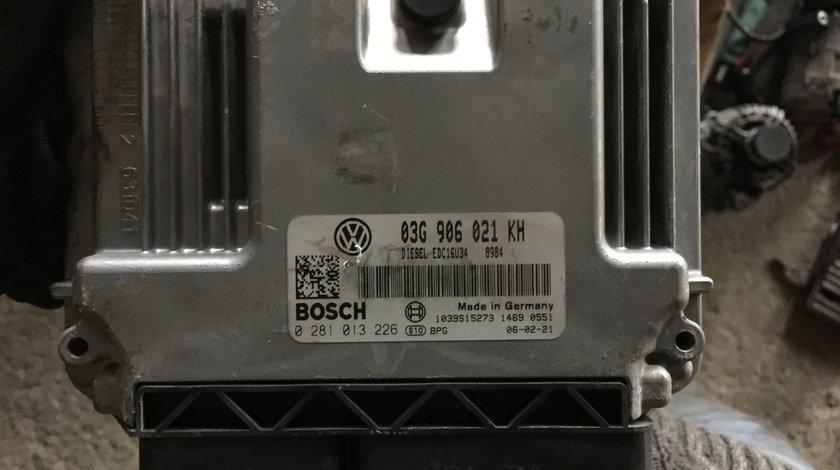Calculator motor 03G906021KH Vw Jetta 1.9tdi BXE