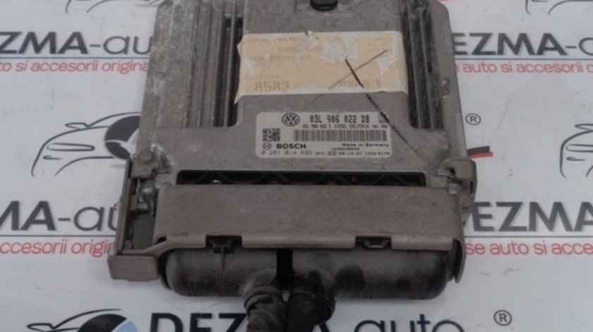 Calculator motor 03L906022DB, 0281014692, Audi A4 (8K, B8) 2.0tdi, CAHA