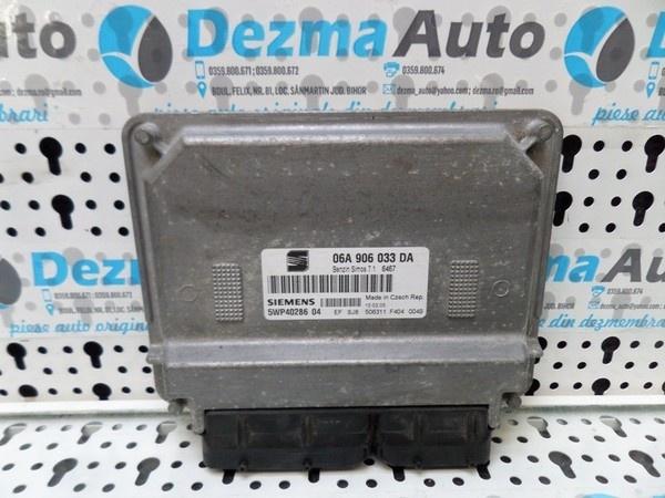 Calculator motor 06A906033DA, 5WP4028604, Seat Altea XL, 1.6Benz, BGU, BSE, BSF