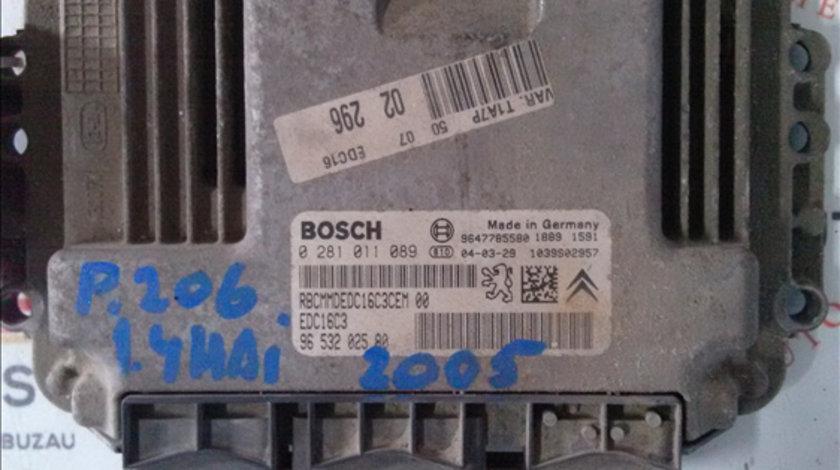 Calculator motor 1.4 HDI PEUGEOT 206