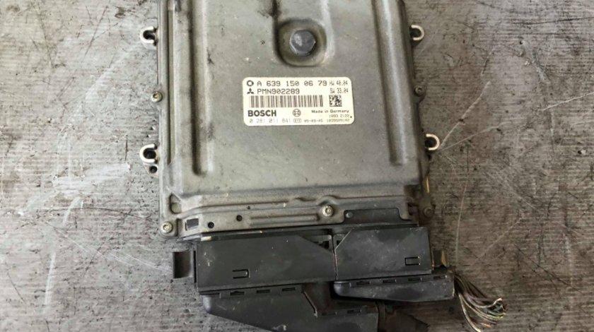 Calculator motor 1.5 di-d smart forfour mitsubishi colt a6391500679 0281011841