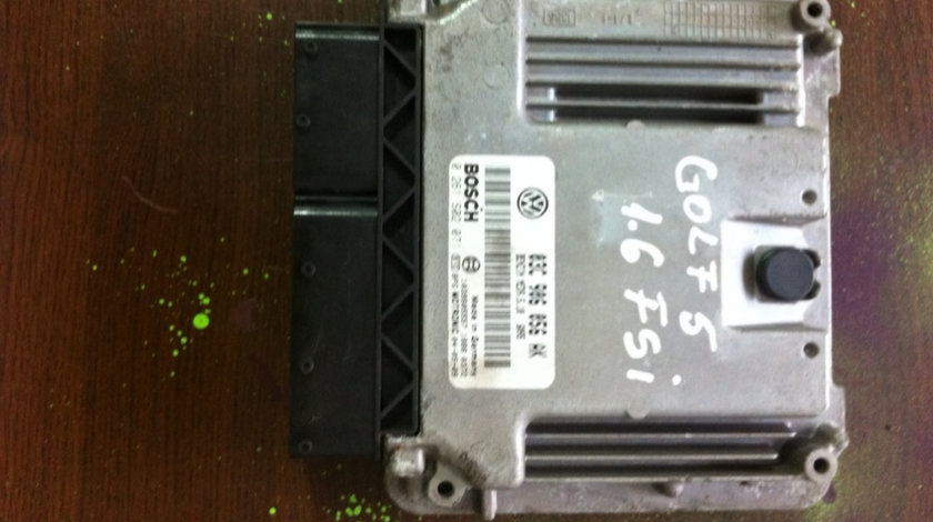Calculator motor 1.6FSI cod motor BLP Volkswagen Golf generatia 5 [2003 - 2009] Hatchback 5-usi 1.6 FSI MT (116 hp) V (1K1)