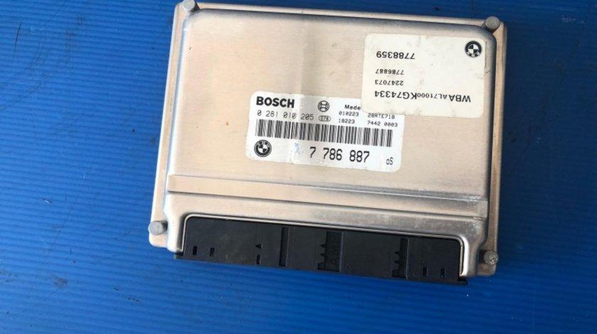 Calculator motor 2.0 d 320 bmw seria 3 e46 0281010205 7786887