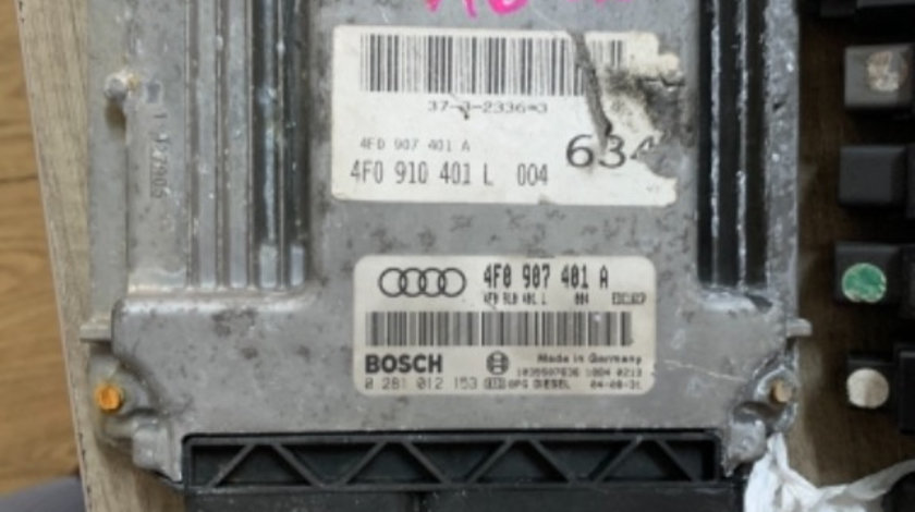 Calculator motor 4F0907401A, 4F0910401L, 0281012153 Audi A6 4F 3.0 tdi