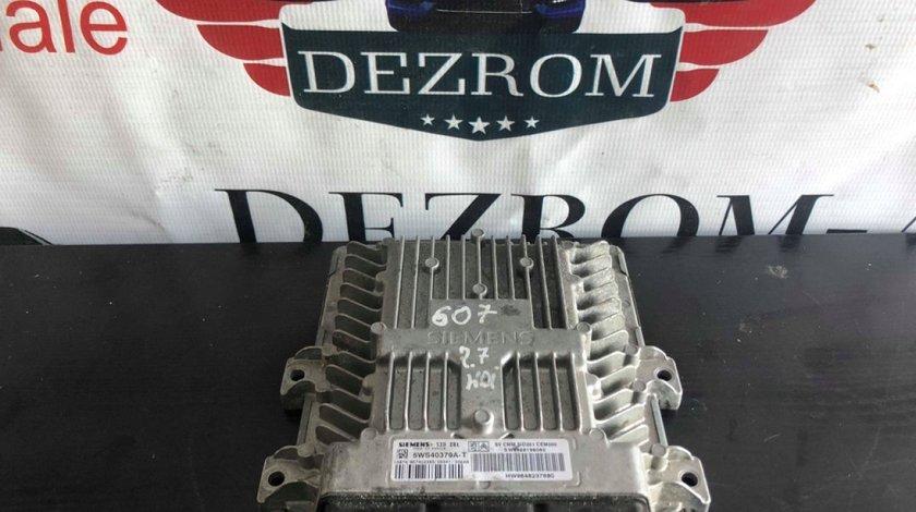 Calculator motor 5WS40379A-T 9658198080 SID 201 peugeot 607 2.7 hdi