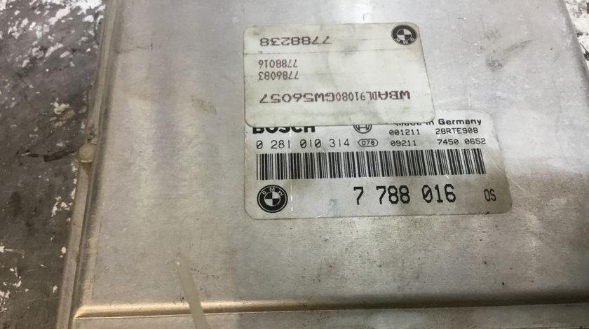 Calculator Motor 7788016 BMW 3 E46 1998-2005