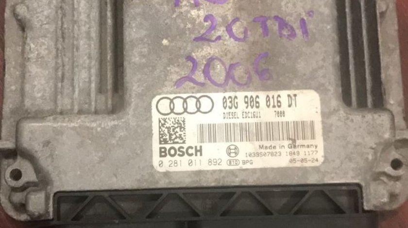 Calculator motor audi a3 8P 140cp 2006