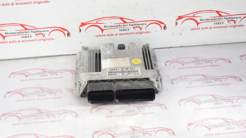 Calculator motor Audi A3 8P 2.0 TDI BKD 03G906016G softat ABT 483