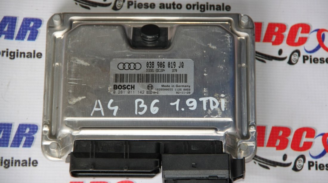 Calculator motor Audi A4 B6 8E 1.9 TDI cod: 038906019JQ model 2004