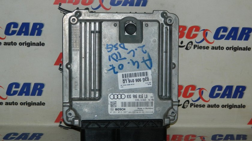 Calculator motor Audi A4 B7 2.0 TDI cod: 03G906016LQ