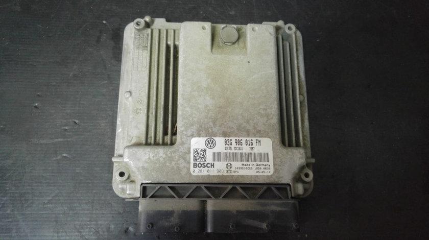 Calculator motor bkd 2.0 tdi vw jetta 3 03g906016fm 0281011903