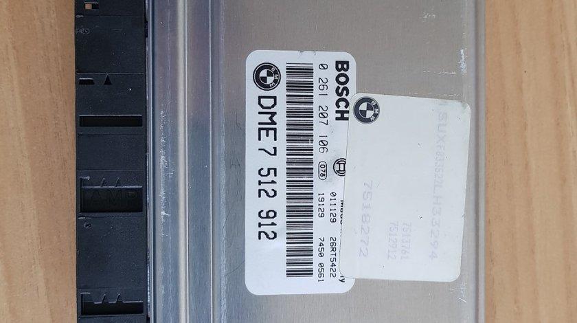 calculator motor bmw e53 4.4i M62 2002 cod 7518272 DME 7512912 COD EXCH 12147529058