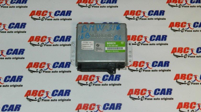 Calculator motor BMW Seria 3 E30 1.8 i cod: 1727982001 / 0261200387 model 1990