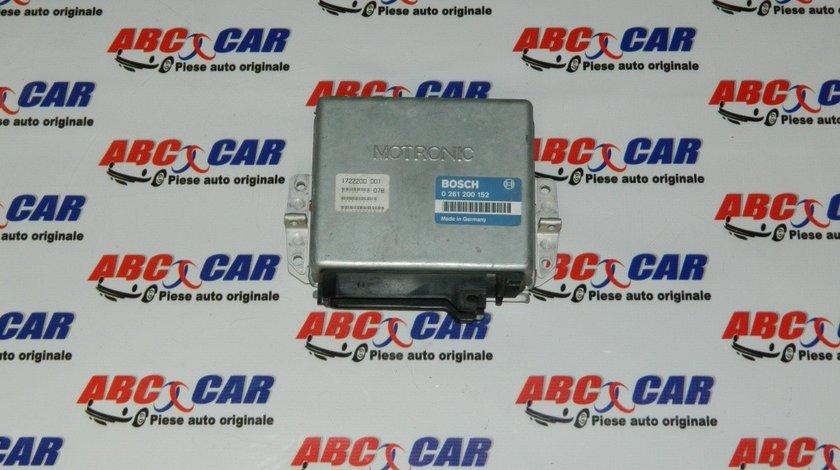 Calculator motor BMW Seria 3 E30 2.0 I cod: 1722200001 / 0261200152 model 1988