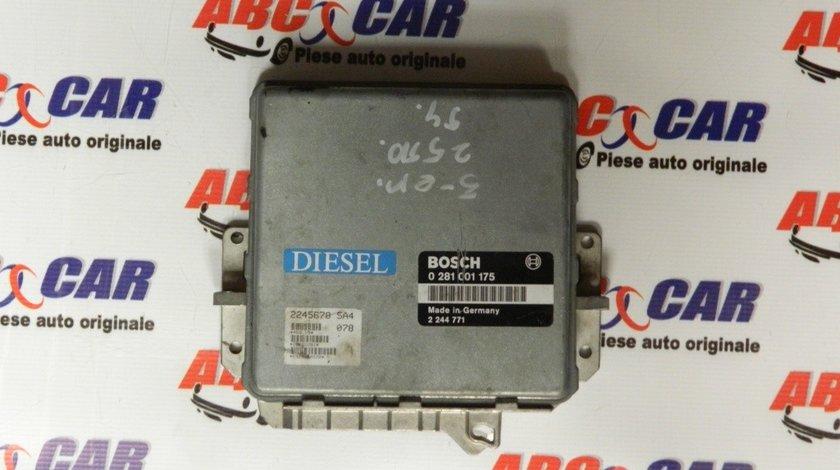Calculator motor BMW Seria 3 E30 2.5 TD cod: 2244771 / 0281001175 model 1990