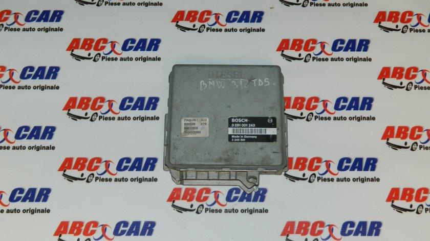 Calculator motor BMW Seria 3 E36 1.8 TDS cod: 2245541 / 0281001243 model 1995