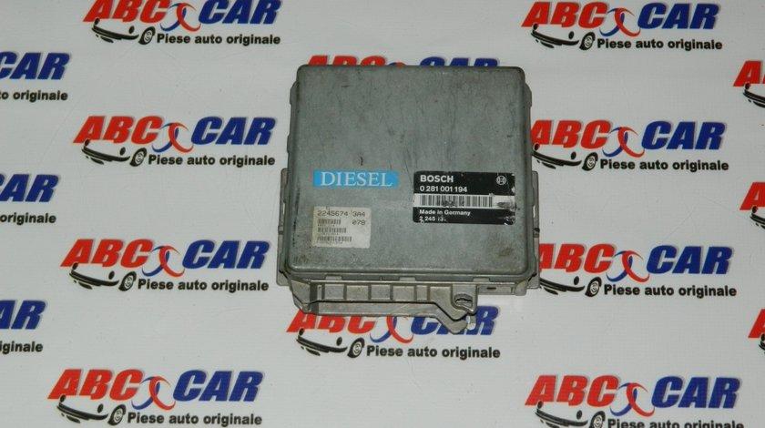 Calculator motor BMW Seria 3 E36 2.5 TDS cod: 0281001194 / 2245131
