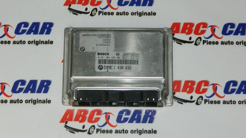 Calculator motor BMW Seria 3 E46 1.8 B 118 CP cod: 1430633 / 0261204420 model 2003