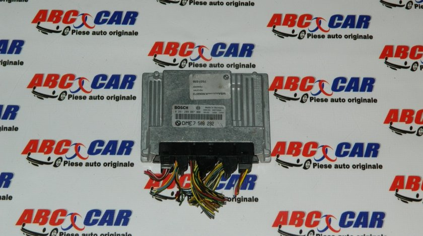 Calculator motor BMW Seria 3 E46 1.8 Benzina cod: 7508292 / 0261209007 model 2000