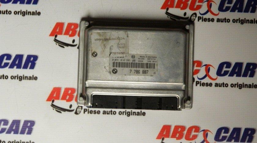 Calculator motor BMW Seria 3 E46 2.0 D cod: 0281010205 / 7786887 model 2002