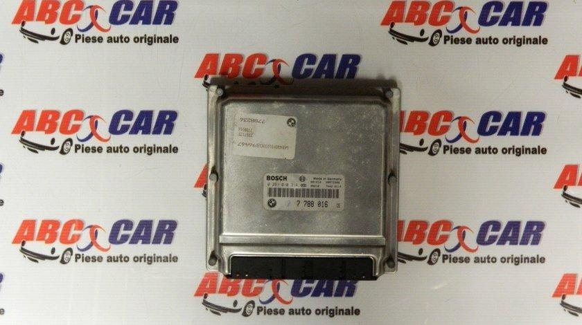 Calculator motor BMW Seria 3 E46 3.0 D cod: 7788016 / 0281010314 model 2003