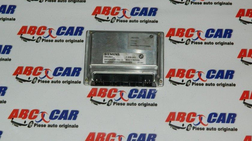 Calculator motor BMW Seria 3 E46 3.0 D cod: 7509942 model 2000
