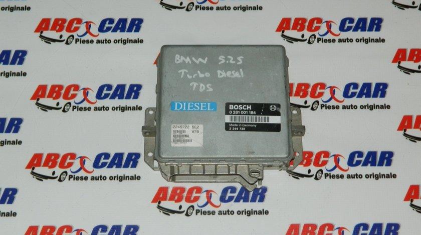 Calculator motor BMW Seria 5 E34 2.5 TDS cod: 0281001184 / 2244735 model 1990