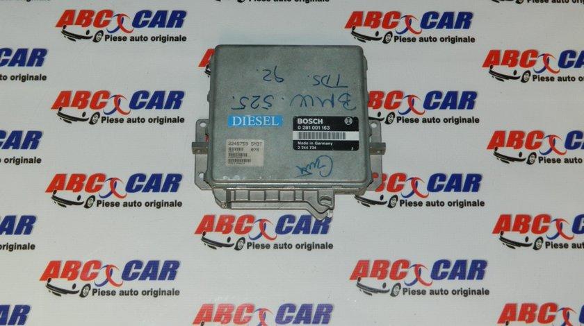 Calculator motor BMW Seria 5 E34 2.5 TDS cod: 0281001163 model 1990
