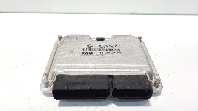 Calculator motor Bosch, cod 045906019BM, 0281011412, Seat Cordoba (6L2), 1.4 TDI, AMF (idi:491510)
